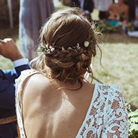 coiffure mariage chignon coiffeuse a domicile valence
